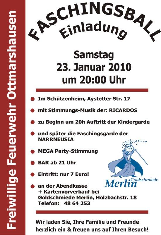 Faschingsball_2010_Einladung