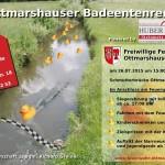 Flyer Badeentenrennen 2015